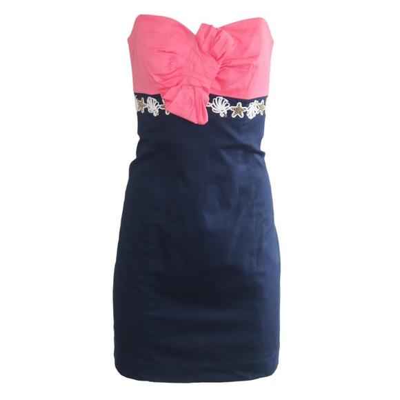 Lilly Pulitzer Krissa Colorblock Dress Size 6
